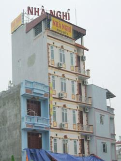 Bán nhà nghỉ khu An Thượng 4 tầng 8 phòng giá 5.8 tỷ