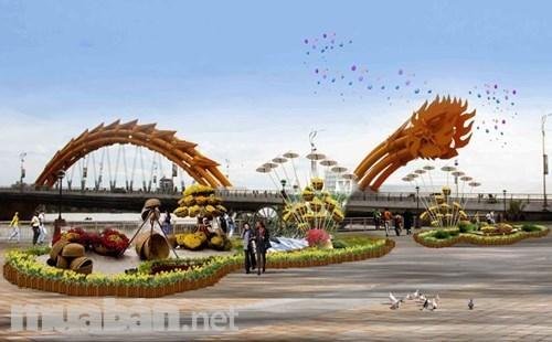 Bán nhà 3 mê, MT Ngô Quyền, nằm giữa Cầu Rồng và cầu Sông Hàn