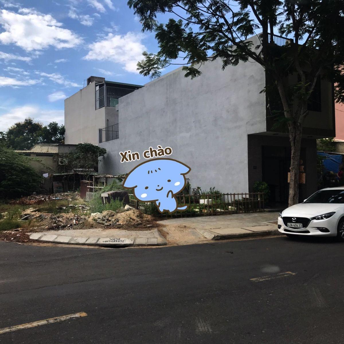 Bán đất 2 mặt tiền đường Ngô Thì Sĩ Biển Đà Nẵng