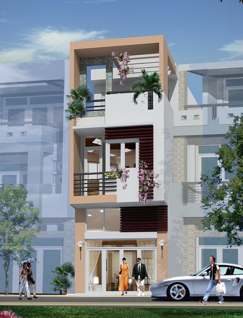 .Nhà mới 4,5 tầng, DT: 90m2, mặt tiền Nguyễn Văn Linh