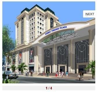 Văn phòng cho thuê Vĩnh Trung Plaza Đà Nẵng